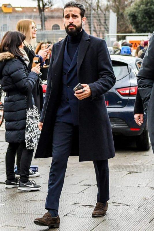 men's long overcoats
